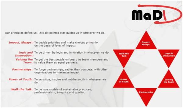 MaDD Principles